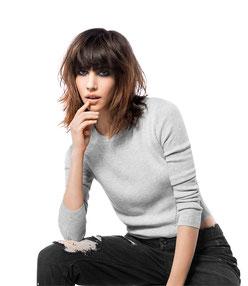 Longbob Trendfrisur 2016 Haarstudio Caruano