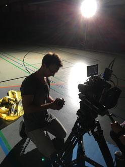 Filmemacher Malte Goy am Freitagabend
