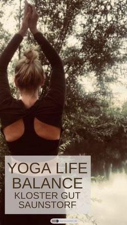 3 Tage Yoga Life Balance Workshop im Kloster Gut Saunstorf  - Yoga und Life Coching Retreat Deutschland