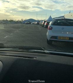 Coronateststraat TUI in Aalsmeer