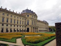 Residenz Würzburg, Hofgartenseite