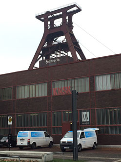 UNESCO-Weltkulturerbe Zollverein,Aufgabenstellung: Klimatisierung eines Teilbereich der Halle 6 (ehemalige Elektrowerkstatt) mit DAIKIN-VRV-System. Insgesamt wurden neun Komfortklimageräte für Kühlen-Heizen-Lüften einer Büroetage und die Kühlung eines Tec