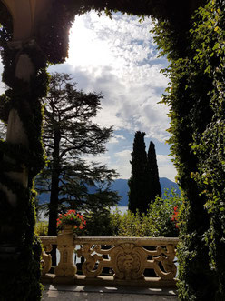 View from the Loggia, Villa del Balbianello