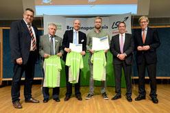 von links: Stefan Studt, Gunnar Buchheim, Thomas Glüsing, Marius Ottner, Thomas Wortmann, Hans-Jakob Tiessen