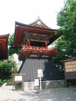 成田山 鐘楼