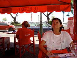 Marie-Jo Astic au Rétro, à Papeete
