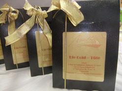 Schwabacher Blattgold  Geschenketüte