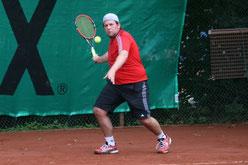 Florian Hüsken kämpfte sich eine Runde weiter.