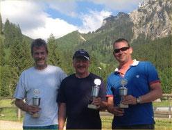 Die Sieger: Klaus, Walter und Arnd