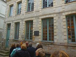 Maison de Robespierre, aujourd'hui musée et centre d'études / Photo JH