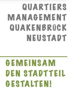 Ausschnitt des Informationsflyers zum Quartiersmanagement Quakenbrück-Neustadt
