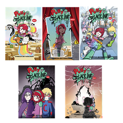 Polly and the Black Ink -Vol 1-5  Graphic Novel Ages: 5+