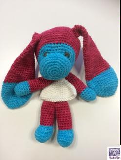 Häkelanleitung, Instruction for crochet, BaLuEd