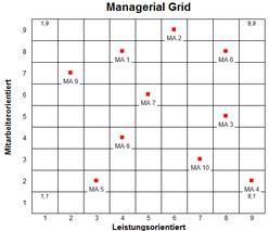 Excel Vorlage: Managerial Grid