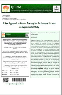 Microkinésithérapie Recherche article