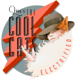 Lou's THE COOL CATS Electrified Logo