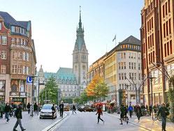 Blick auf den Rathausmarkt, (c) Frank Burmester