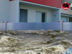 Effektiver Hochwasserschutz für Ihre gesamte Liegenschaft oder Ihr gesamtes Haus