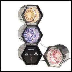 Lichteffekte mieten verleih Alex Light and Sound Lichtorgel 3 LED