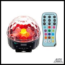 Musikanlage Lichtanlage Mischpult Mikrofon Nebelmaschine Verstärker mieten verleih Alex Light and Sound Halbkugel LED