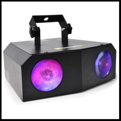 Lichteffekte mieten verleih Alex Light and Sound Doublemoon led