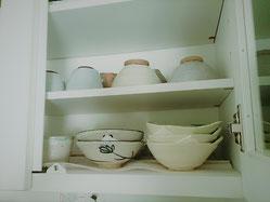 器のお手入れ 食器の収納