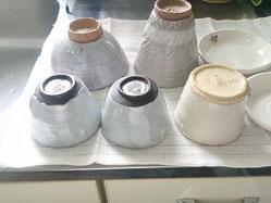 器のお手入れ 器の乾燥