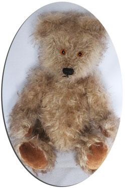 """Teddybär """"Edwin"""" von Hand gefertigt, Unikat"""