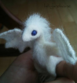 羊毛フェルト ドラゴン ベビー 赤ちゃん