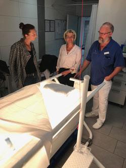 Fotos Praxisweiterbildung 2019 Klinik für Manuelle Therapie in Hamm