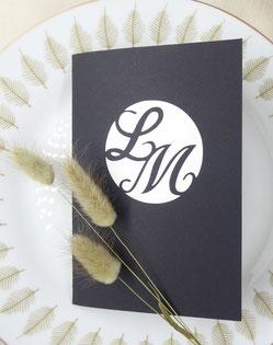 Faire-part mariage pop-up La rose personnalisable