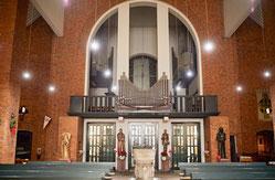 Die Kirche St. Elisabeth finden die Kirchner besonders gemütlich. (WAZ-Foto: Lars Heidrich)