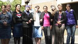 Im Sozialzentrum St. Peter in Duisburg treffen sich Frauen regelmäßig zu einem Sprachkurs (Foto: Christoph Grätz)