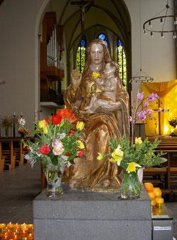 """Die """"Mutter vom Guten Rat"""" in der Karmelkirche"""