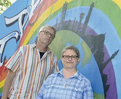 Klaus Peter Bongardt und Schwester Martina Paul (Foto: Christoph Grätz)