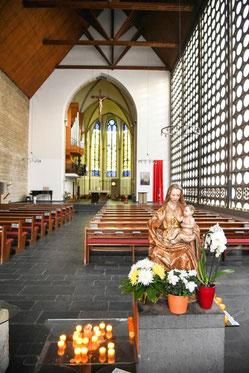 Die Duisburger Karmelkirche will sich auf die Spiritualität konzentrieren. (Foto: WAZ)