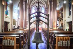 Wie es in der St. Maximilian-Kirche in Ruhrort weitergeht ist noch offen. (Foto: WAZ)