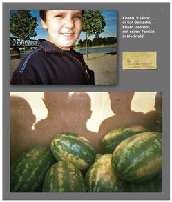 Bild des 9-jährigen Keanu