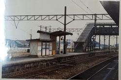 改築前(開業当初)の基山駅