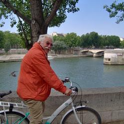 Mit dem Fahrrad in Paris
