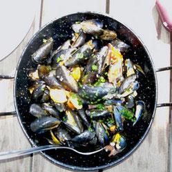 Zwar keine Suppe, aber Muscheln