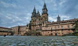 La Catedral de Santiago de Compostela, mijn eindbestemming