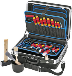 Knipex Montage Werkzeugkoffer 002105 HLS Elektro Installation