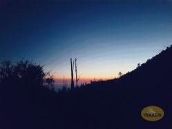 Sonnenaufgang im Ijen