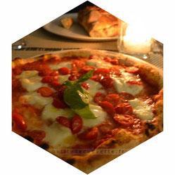 Pizza au restaurant Panxfocaccia Turin  Italie