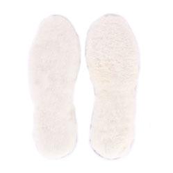 semelles en laine naturelle de mouton dessous feutrine légère chaude respirant respirante anti transpirant lavable main souple  peau de mouton cuir fourrure lainé
