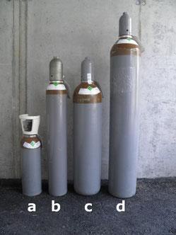 Heliumflaschen