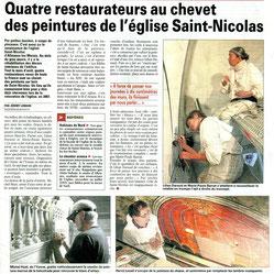 La Voix du Nord 20 aout 2010