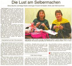 Lust am Selbermachen, WZ 18.02.2014