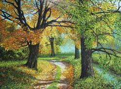 Herbstlicht 40 x 60